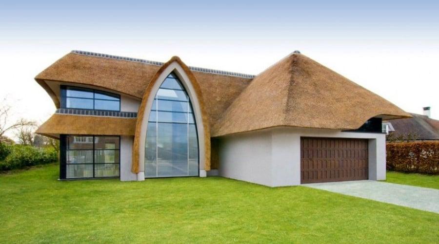 Камышовые крыши